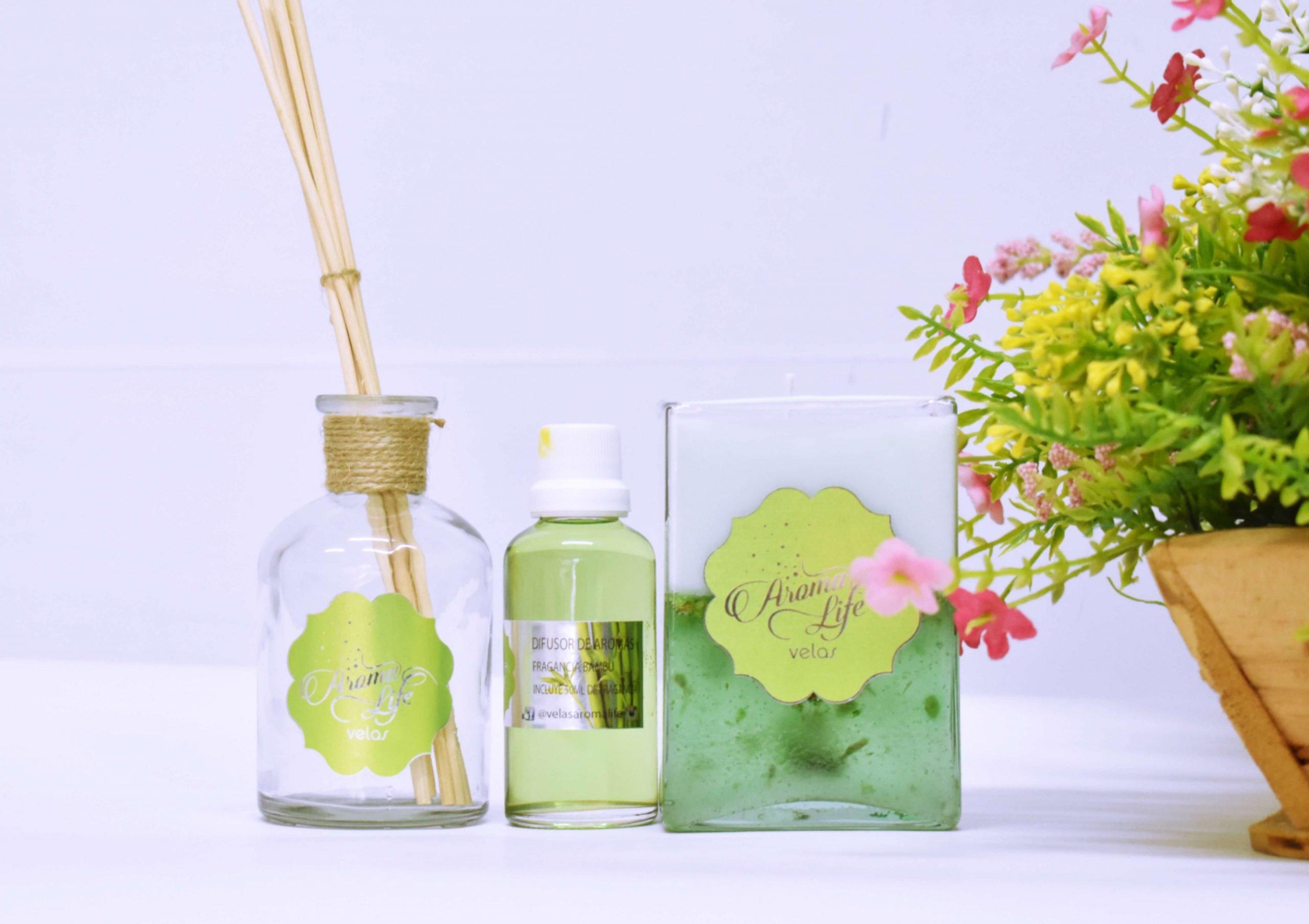 difusores fragancias velas aromatizadas y decorativas