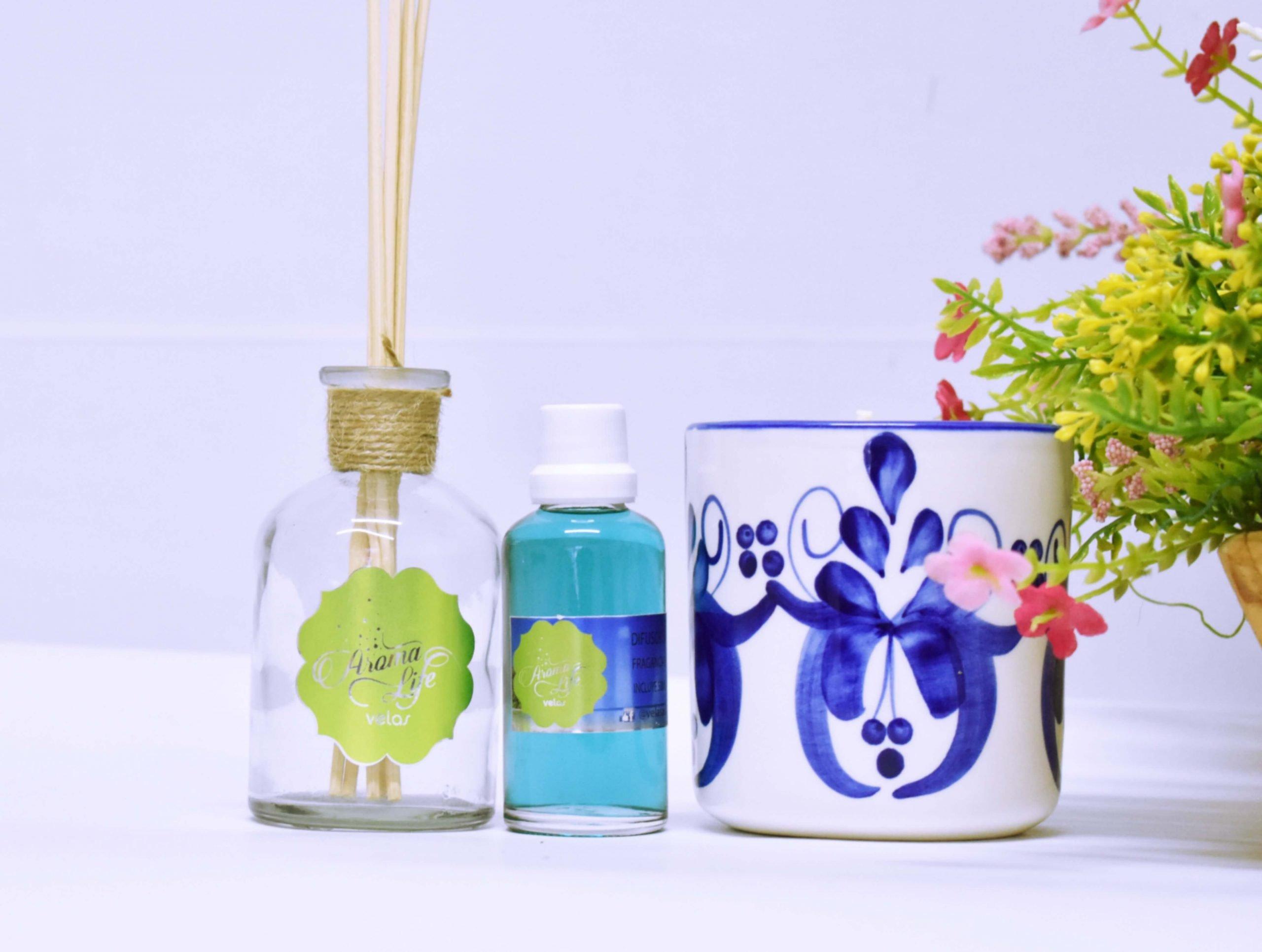 velas decorativas aromaticas aromatizadas aromalife